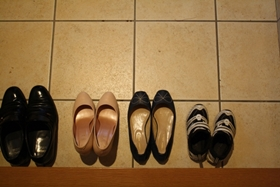 靴をきれいに