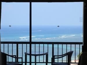 海が見えるマンション