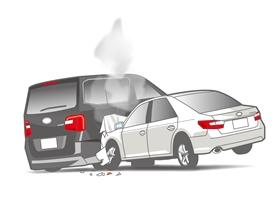 盗難車が交通事故