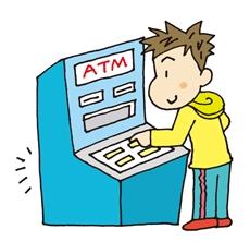 ATMで返済する