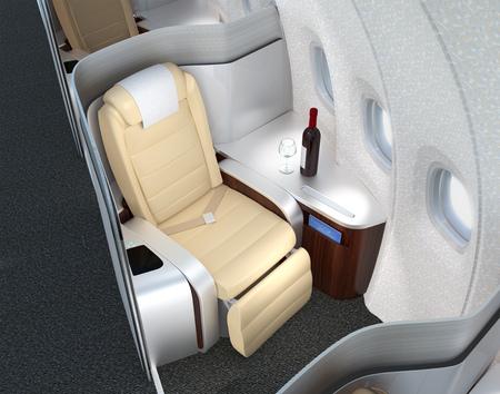 機内のプライベート