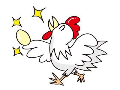 鶏が卵を産む夢