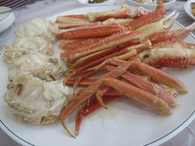 調理された蟹