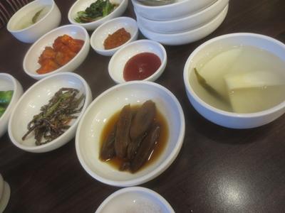 韓国料理付属