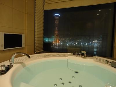 ホテルでジャグジー