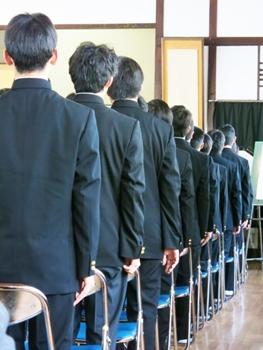 子どもの入学式