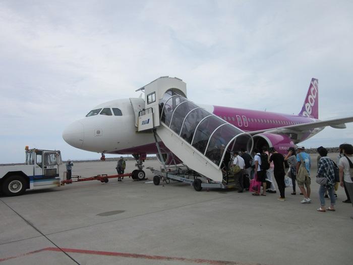 ピーチ沖縄の乗り方!那覇空港旅客ターミナルビル3Fに変更になってたw
