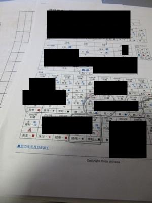 島袋千鶴子の鑑定書