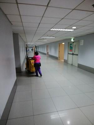 ターミナル3からターミナル2への乗り換え