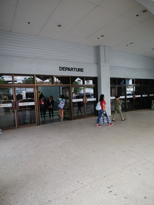 セブ・マクタン国際空港出発