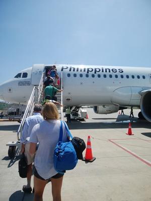 セブ島へのマニラ経由は危険!飛行機が3時間も遅れた!
