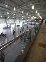 釜山空港のラウンジ