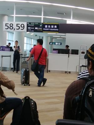 タイ航空は定時に出発