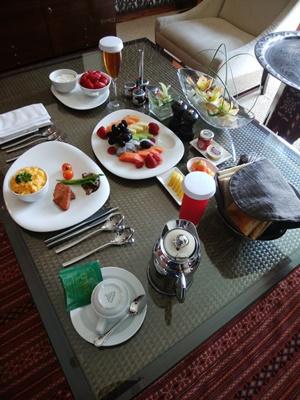 パレスダウンタウンの朝食
