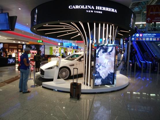 ドバイ空港にある宝くじ購入場所