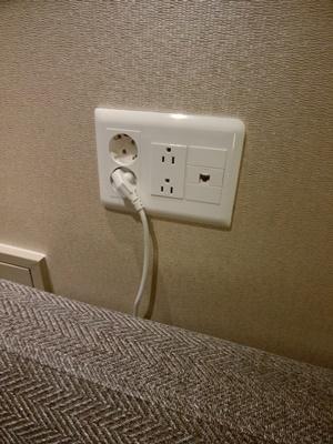 電源が便利
