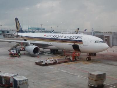 シンガポール航空の機内食はおいしい?エコノミー編(福岡発)