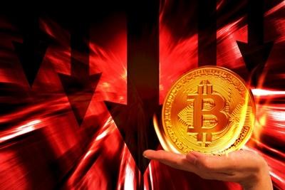 仮想通貨の暴落