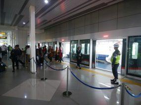 ジャカルタ空港ターミナル3から2への移動