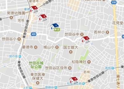 東京都 地図から賃貸物件を探す I 賃貸