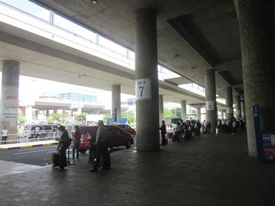 マニラ空港7番