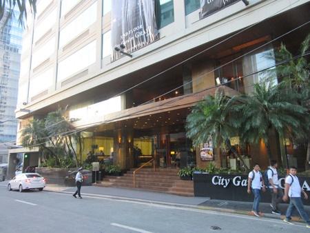 シティーガーデン グランドホテル(マニラ)に宿泊