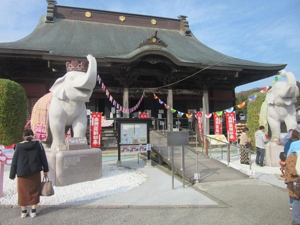 宝くじ当選で有名な吉ゾウくんの長福寿寺