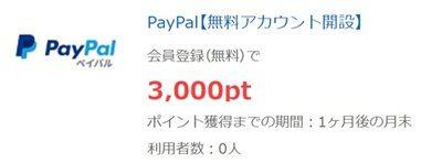 paypalの検索結果 - ポイントタウン byGMO