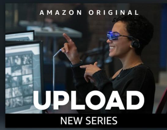Amazonドラマ「アップロード」が面白い!仮想現実で生き続ける