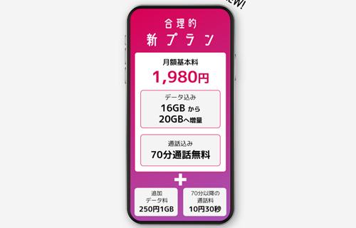 日本通信SIM追加データ