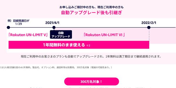 Rakuten UN-LIMIT VI(料金プラン) - 楽天モバイル