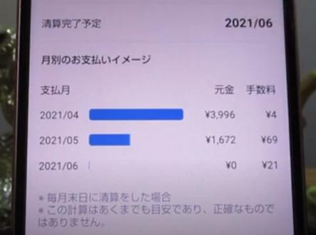 【メルペイ】定額払いの手数料